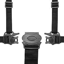 HBF Cintura Sicurezza Bambini per Seggiolone 5 Punti Imbracatura Bambini Cintura Passeggino Universale Materiale Morbido