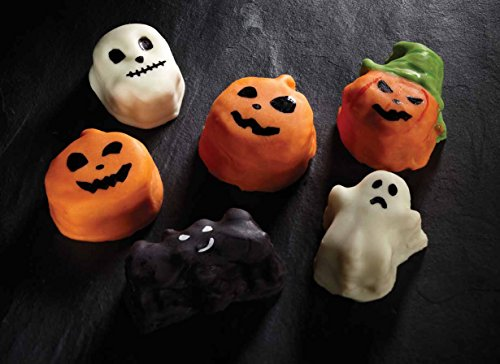 Kitchen Craft Spookily Does It - Molde de silicona para horno con huecos, diseño de Halloween