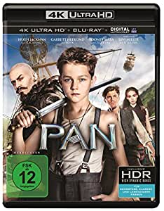 Pan  (4K Ultra HD) [Edizione: Germania]