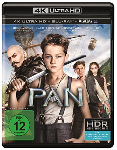Pan (4K Ultra HD + 2D-Blu-ray) (2-Disc Version)  [Blu-ray] -