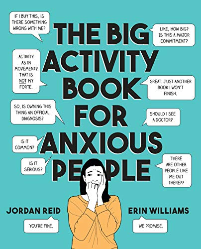 The Big Activity Book for Anxious People -
