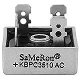 10pcs completa puente rectificador KBPC351035A 1000V metal Caso monofásico Diodo Puente rectificador AC a DC