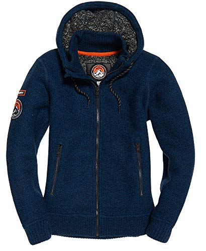 Superdry Herren Kapuzenjacke Expedition Marine (52) M