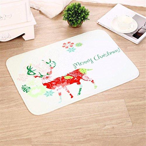 Sansee Dekor Lappen Teppich Für Weihnachten-16471 (Größe: 40cm X 60cm, Y0903 F)