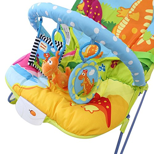 Babyfield Modelo Babylo Dino Hamaca Bebe multicolor - 5