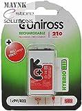 Uniross 9V Rechargeable Batteries Hybrio...