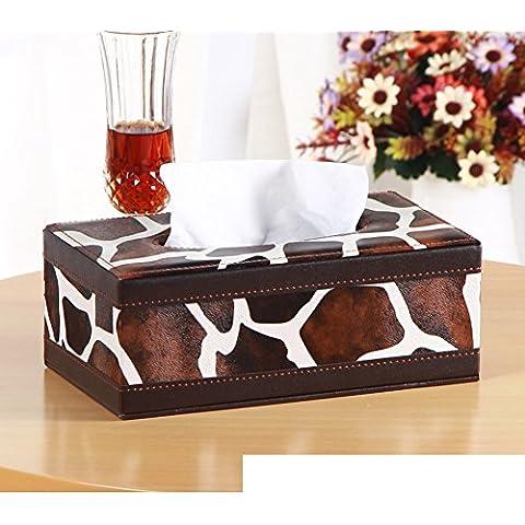 Página de inicio de caja del tejido cortical/Cajas de Kleenex/Sala caja servilleta mesa/Bandeja de coche creativo-P