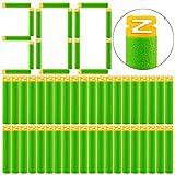 DUS 300 Stück Darts Pfeile Schaumstoff Refill Bullets Nachfüllpack für Nerf Elite/Nerf Modulus/Nerf Zombie
