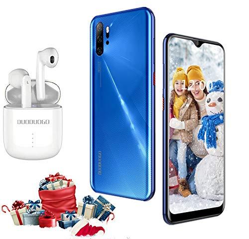 smartphone offerte cellulari 4g con auricolare bluetooth, 6.53 pollici 3gb+32gb/ 128gb espandibili offerte cellulari 13mp+5mp 4500mah dual sim quad-core telefonia mobile