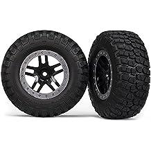 ruedas montadas pegados BF Goodrich 4x4 delantera / trasera trasera 4x2 (2) - TRAXXAS