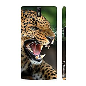 Enthopia Designer Hardshell Case Ferociouscity and Speed Back Cover for One Plus One