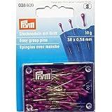 Stecknadel mit Griff 0,58x38 mm silberfarbig violett 10 g 028800
