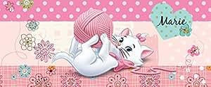 DISNEY LICENCE 804VEP Chat Marie Décoration Murale Chambre d'Enfant Papier Peint 250,0 x 104,0 cm