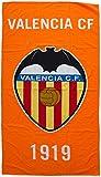 Valencia CF Toavcf Toalla, Blanco / Naranja, 150 x 75 cm