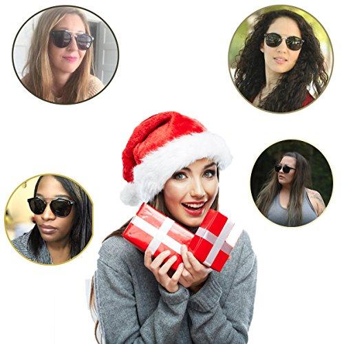 4ba88297b96 Aiblii Mirrored Clubmaster Round Sunglasses for Men Women Half Frame  Semi-Rimless UV400 Protection Classic Polarised Sun Glasses for Birthday  Gift - Buy ...