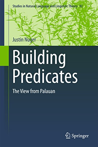 Building Predicates: The View from Palauan (Studies in Natural Language and Linguistic Theory Book 92) (English Edition) por Justin Nuger