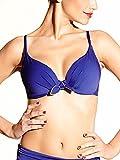 Chantelle Swim Damen Bikinioberteil Blau Blau