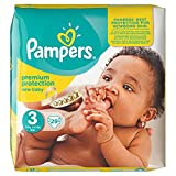 Couches Pampers New Baby Lot de transport – Taille 3 (Midi), 29 couches