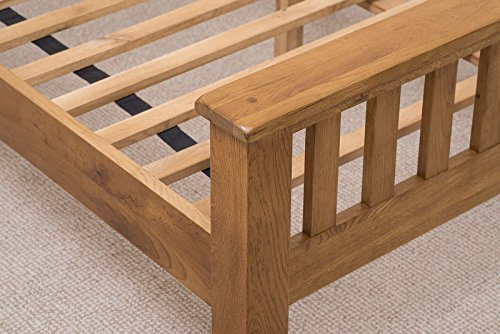 COTSWOLD RUSTIC OAK 5FT KINGSIZE BED ONLY