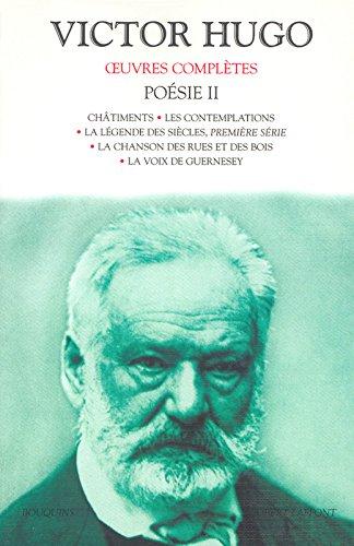 Oeuvres complètes - Poésie - Tome II (2) par Victor HUGO