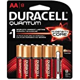 Duracell Ultra Power Alkaline Batteries With Duralock Power Preserve Technology, AA, 8/Pk