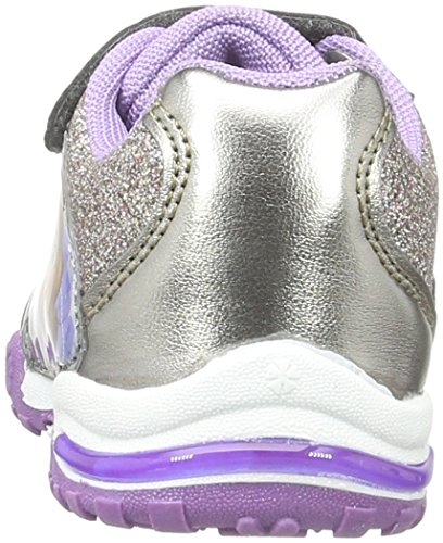 Sofia die Erste Girls Kids Athletic Sport, Baskets Basses Fille Violet - Violett (GRY/Lpew/PUR 162)