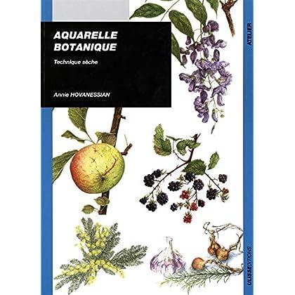 Aquarelle botanique : Technique sèche