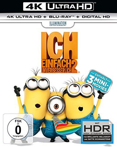 Ich: Einfach unverbesserlich 2 - Ultra HD Blu-ray [4k + Blu-ray Disc]
