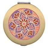 Compact Mirror Emerald Meadows Golden Foliage By Wellspring We2344