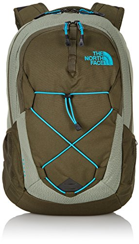 The North Face Jester - Mochila, color verde / azul, talla única
