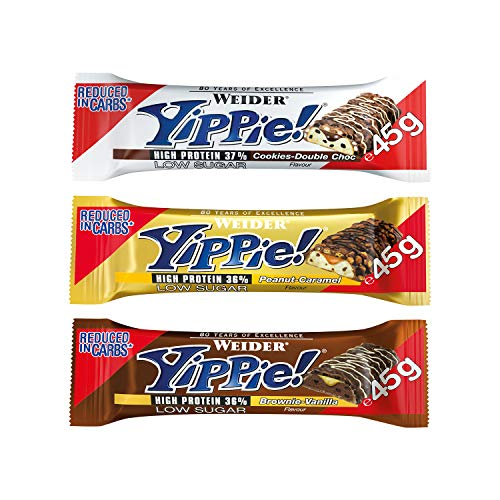 JOE WEIDER VICTORY MIX PACK AHORRO Pack Yippie Bar 6 barrita x 45 g (2 Cookie