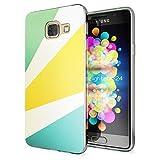 Samsung Galaxy A3 2017 Hülle Handyhülle von NALIA, Slim Silikon Motiv Case Cover Crystal Schutzhülle Dünn Durchsichtig Etui Handy-Tasche Backcover Transparent Phone Bumper, Designs:Retro