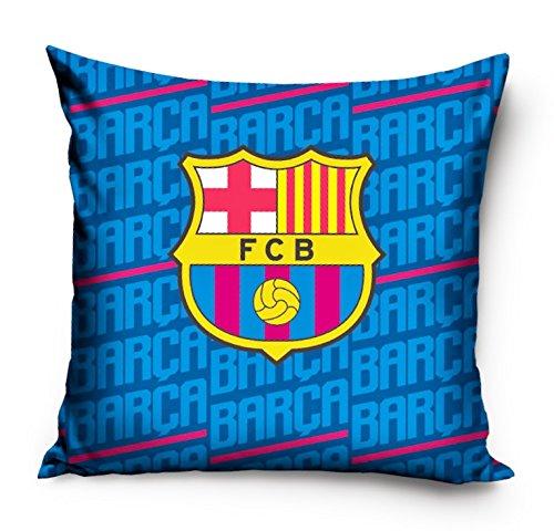 Barcelona Barca decorativo funda para cojín 40 x 40 cm de fútbol de funda de  almohada 6e3445296d1