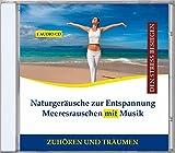 Naturgeräusche zur Entspannung Meeresrauschen mit Musik - Entspannungsmusik Wasser instrumental - Naturklänge - Wellne