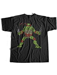 T-Shirt Ninja Turtles T-Shirt Fun Kult Splinter Shredder Teenage Mutant Ninja T