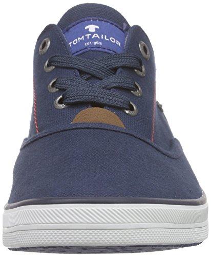 Tom Tailor Herrenschuhe, Baskets Basses Homme Bleu - Bleu marine