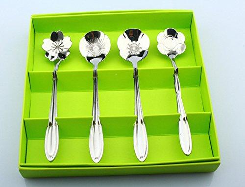 Cucina Per Bambini Miele : Hacoly 4er rose fiore sakura per tè e caffè cucchiaio bambini yogurt