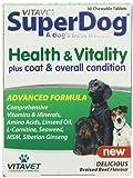 Vitabiotics SuperDog Health and Vitality - 30 Chewable Tablets from VITABIOTICS LTD