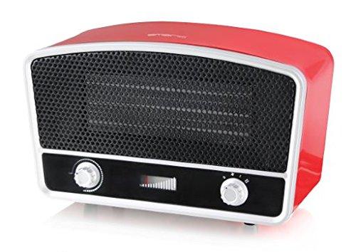 emerio FH-110676.1 Calefactor de Aire Caliente Eléctrico, Termostato, Ventilador, 2000W