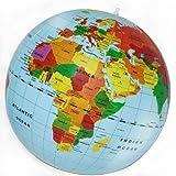 Globus Weltkugel Aufblasbar Kinder Mega 50cm Ball Politische Weltkarte Spielzeug