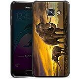 Samsung Galaxy A3 (2016) Housse Étui Protection Coque Éléphant Éléphants Animal à trompe