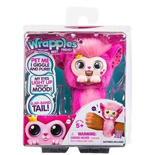 ROSEEH Muñeca Mono Poco Vivo Mascotas Niños Lindos Juguetes de Peluche,Pink