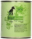 Dogz finefood Hundefutter No.4 Huhn & Fasan 800 g, 6er Pack (6 x 800 g)