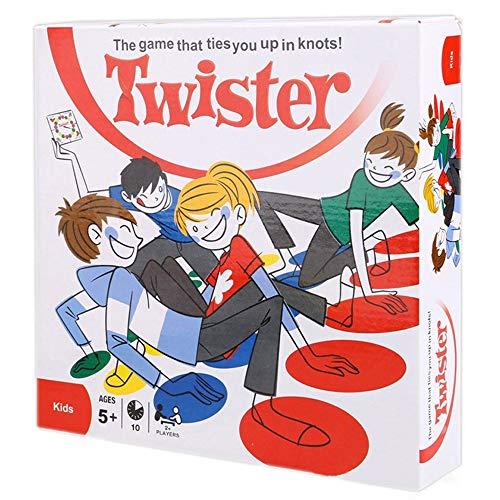 Hi-Sun TourKing Twister Gioco Gioco da Tavolo per Sport da Esterno Gioco da Tavolo Giocattolo Divertente per Bambini