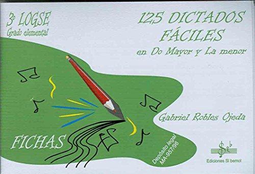 SIBEMOL - Dictados 3º: 125 Dictados Faciles en Do Mayor y La Mayor (Inc.3 CD) (Robles)