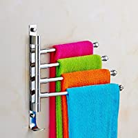 Caratteristiche:Con lungo braccio: 27,9cm (28cm)Ideale per appendere e organizzare yourface asciugamano asciugamani e vestiti, ecc.Facile da installare il portasciugamani sul wallwith l' hardware di montaggio incluso, per risparmiare spazi...