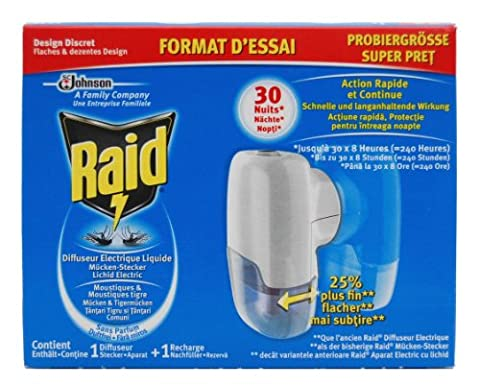 Raid Liquid Prise anti-moustiques