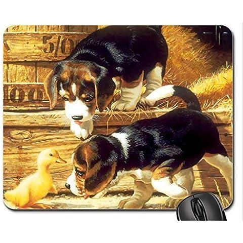 BEAGLE PUPS Mouse Pad, Mousepad (Dogs Mouse Pad)