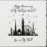 To My Wonderful Husband–Handarbeit Anniversary Karte–S55