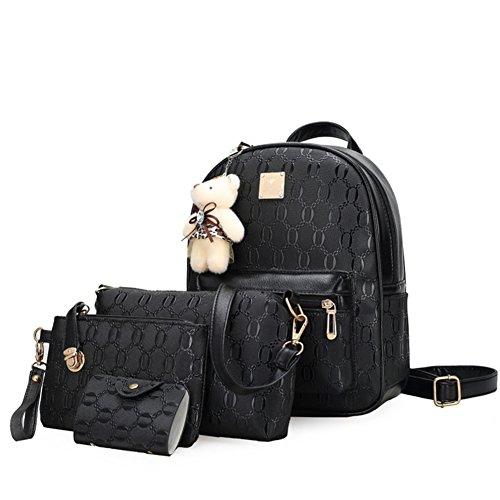 Sac à bandoulière double/ loisirs coréenne fashion handbags/Sacs de vent d'université en relief-A A